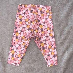 Carter's floral leggings (3 for $10)